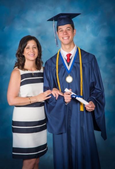 Christina-K-and-Son-at-Graduation-2016